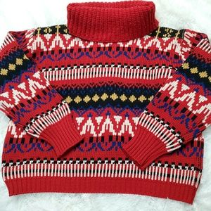 1960s James kenrob cropped wool sweater